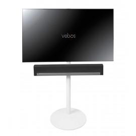 Vebos stativ TV Sonos Playbar vit