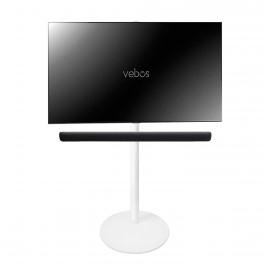 Vebos stativ TV Yamaha YAS 109 Sound Bar vit