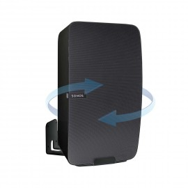 Vebos väggfäste Sonos Play 5 gen 2 roterande svart - vertikal