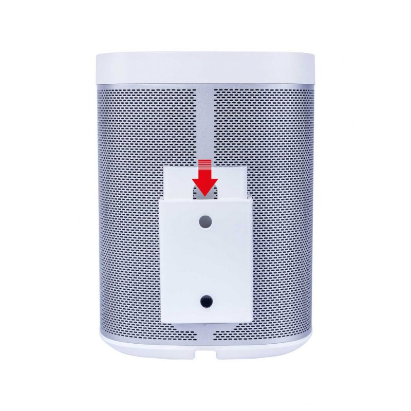 Vebos portable väggfäste Sonos Play 1 vit